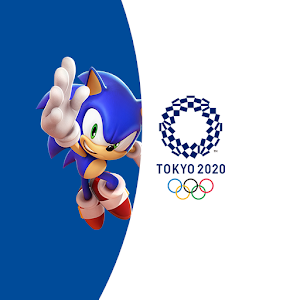 Sonic at the Olympic Games Tokyo 2020 1.0.2 by SEGA logo