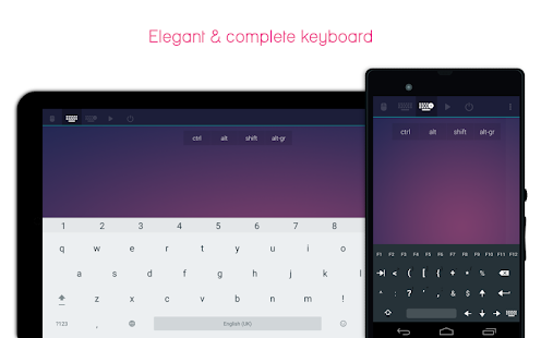 Telepad - remote mouse & keyboard Screenshot