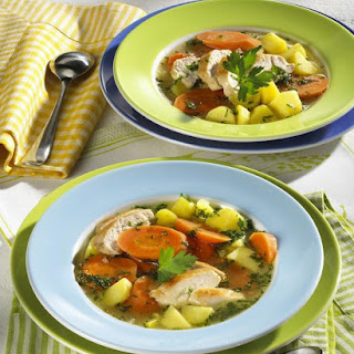 Chicken And Carrot Stew.