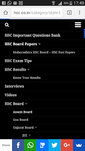 HSC Board 12th Standard India- screenshot thumbnail