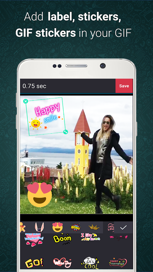 Gif Maker-Editor Pro | GifCam- screenshot