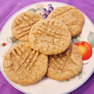 Fat Chewy Peanut Butter Banana Cookies