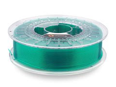 Fillamentum Crystal Clear Smaragd Green PLA Filament - 2.85mm (0.75kg)