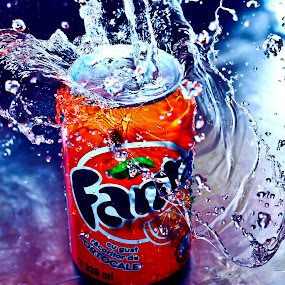 FANTAstic by Alina Dinu - Food & Drink Alcohol & Drinks ( water, drink, drops, commercial, closeup )