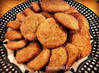 Sugar-free/gluten-free Almond Flour Snickerdoodle