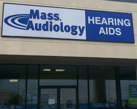 Photo: Mass Audiology in Brockton, MA proudly displaying their BBB Accreditation