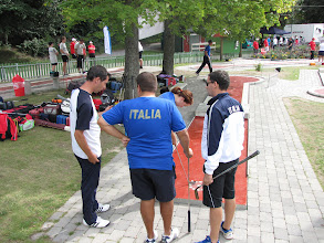 Photo: Players from Italy. Photo: Hans Bergström