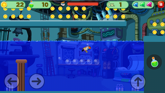Dexter Super LAboratory : Adventure Game - náhled