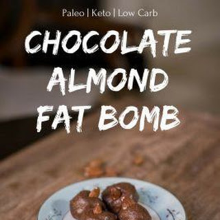 Chocolate Almond Fat Bomb Recipe [Paleo, Keto, Low Carb]