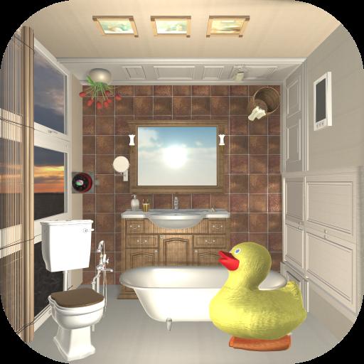 脱出ゲーム Rustic Bathroom ~バスルームから脱出~