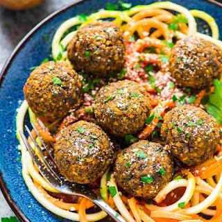 Lentil Meatballs.