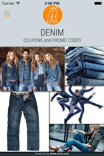 Denim Coupons - I'm In