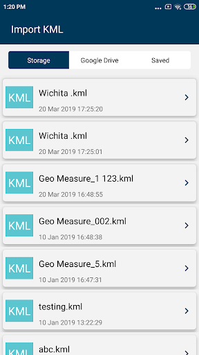 KML Converter and Viewer App Report on Mobile Action - App