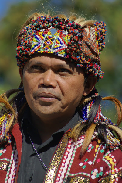 Photo: Datu Cosme Lambayou, Matigsalug Manobo from Philippines (OHCHR Indigenous Fellowship Programme 2009)
