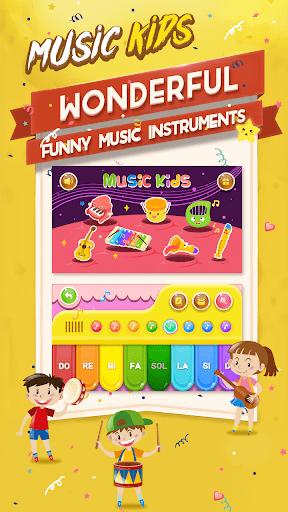 Music kids - Songs & Music Instruments 1.2 screenshots 1