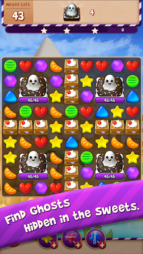 Sugar Witch - Sweet Match 3 Puzzle Game  screenshots 3