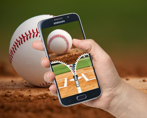 Baseball Zip Lock Screen for PC