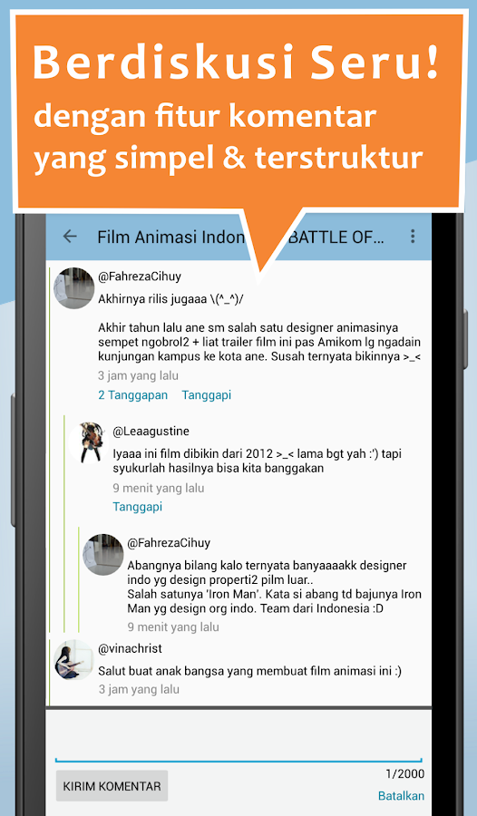 CrowdVoice - Indonesia- screenshot