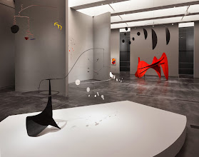 "Photo: A view of the Frank Gehry-designed installation of ""Calder and Abstraction: From Avant-Garde to Iconic"" at the Los Angeles County Museum of Art (image © Calder Foundation, New York, Artists Rights Society, NY, photo © Fredrik Nilsen)"