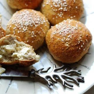 Whole Wheat Sesame Buns.