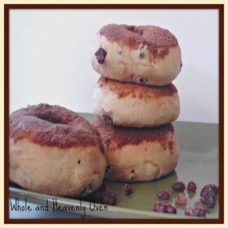 Raisin Cinnamon Doughnut Recipes