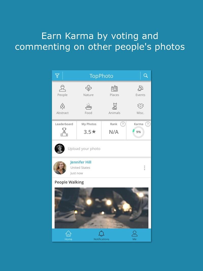 Скриншот TopPhoto - Photo Ranking