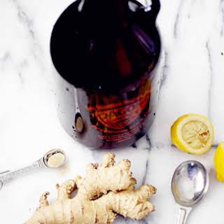 Homemade Ginger Beer.