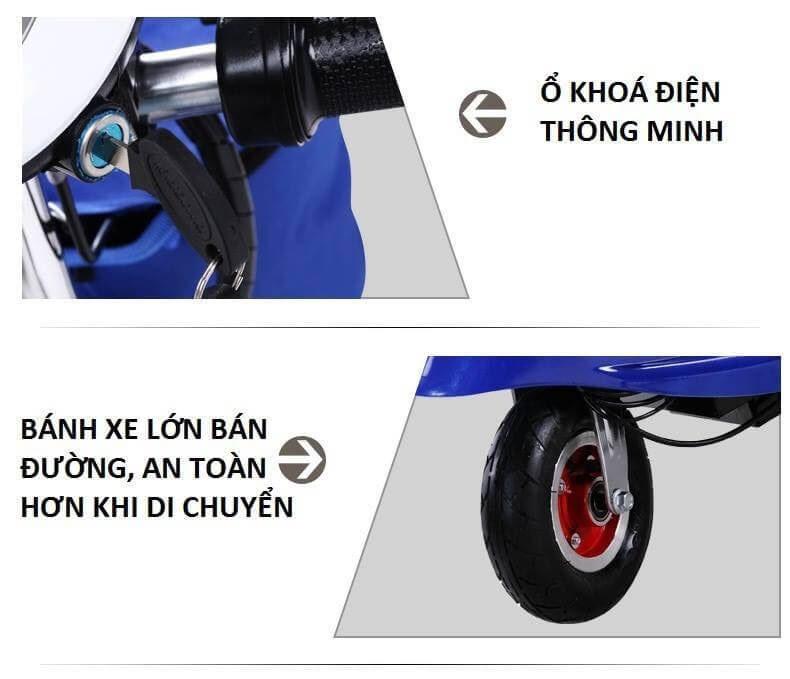 Xe điện E-Scooter mini gấp gọn 26