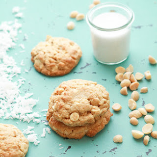 White Chocolate Lemon Coconut Cookies Recipe