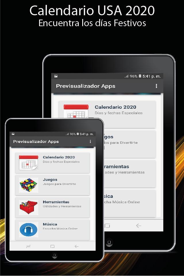 Calendario Usa 2020 Con Dias Feriados Latest Version Apk Download Com Danydarapps Calendariousa2020condiasferiados Apk Free
