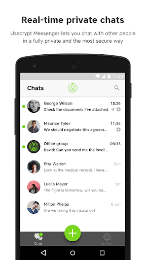 UseCrypt Messenger  screenshots 2