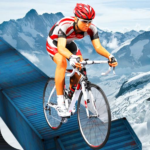 Beach Bicycle Racing Stunts & Fun Rider 3D