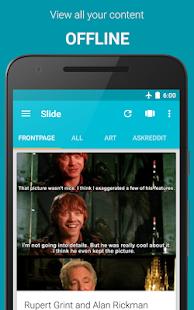 Slide for Reddit Screenshot