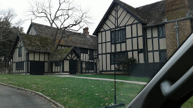 Photo: Agecroft Hall, once stood in Lancashire, England, had its beginnings in the late 15th century. For centuries, it was the home of the distinguished English Langley and Dauntesey families, during the tempestuous yet brilliant Tudor and Stuart ages, when England was taking its place among the major powers of Europe and the New World. Agecroft stood proudly during the reigns of Henry VIII, Elizabeth I, and James I, the namesake of the river that flows past Agecroft's banks here in Richmond, Virginia. By the mid-1920's, the building in Lancashire had deteriorated largely due to coal mining in its vicinity, and the structure was bought by the successful Richmond businessman T.C. Williams Jr., dismantled, and shipped across the Atlantic to Richmond, where it has stood since 1926-27.