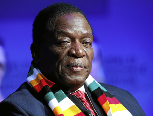 President Emmerson Mnangagwa. File photo.