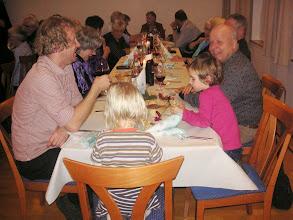 Photo: Auch unser Leiter Simon Dettwiler ist mit seinen Kindern eingetroffen