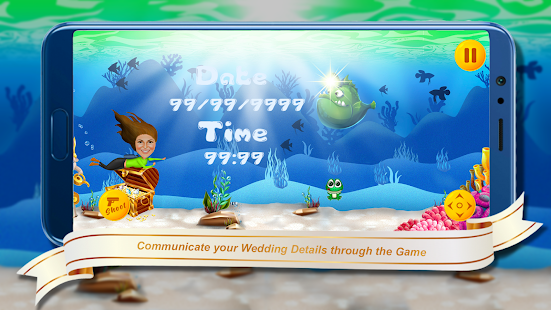 Download Underwater Theme - Wedding Invitation Game For PC Windows and Mac apk screenshot 6