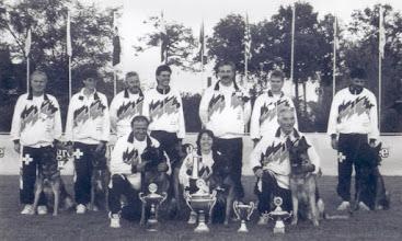 Photo: SKG WM Belgien 1993 mit Lutin