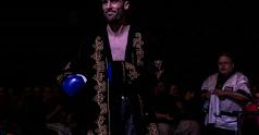 José Antonio Sánchez, Rayito, se prepara para el gran título.