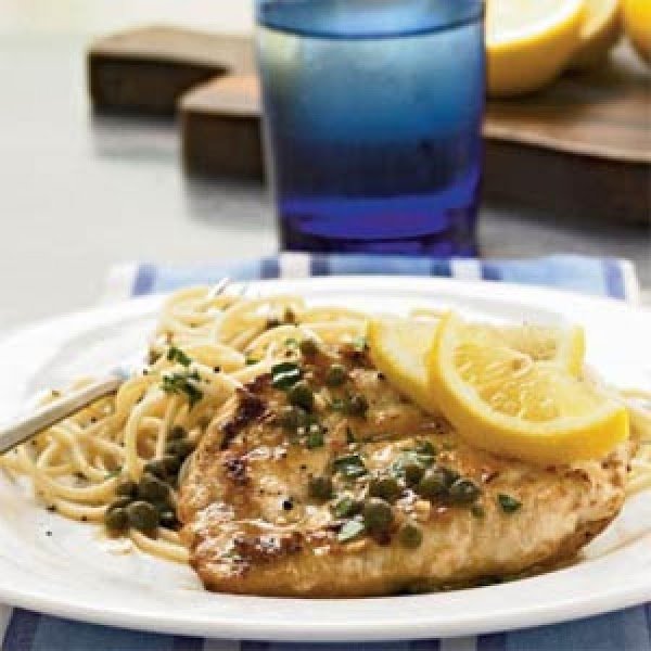 Pork Medallions With Lemon And Capers Recipe