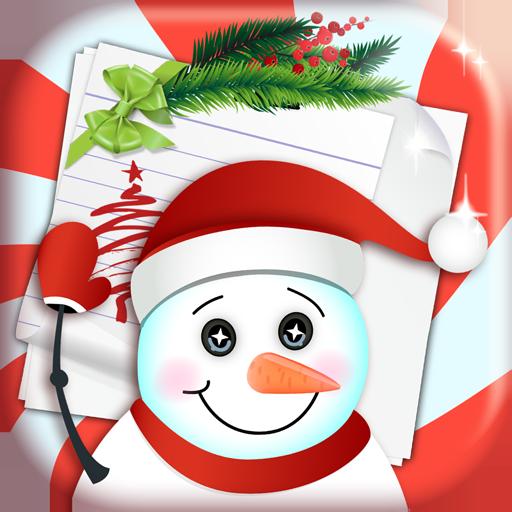 クリスマスのグリーティングカード 生活 App LOGO-APP開箱王