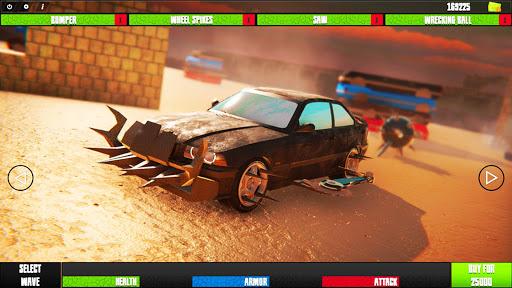 Code Triche crazy driver crash zombie crusher apocalypse jeu APK MOD screenshots 1