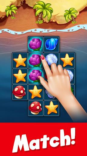 Tropic Trouble Match 3 Builder apkpoly screenshots 4