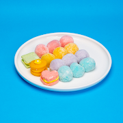 Rainbow Mochi & Shortbread Macarons (15 pcs)