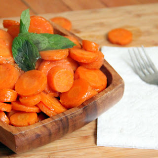 Maple-Glazed Carrots.