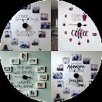 DIY Family Photo Wall Clock Icon