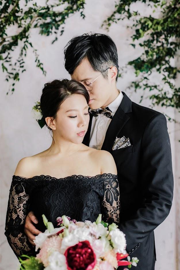 黑色永恆的美式婚紗 一直是許多新人鍾愛的婚紗樣式 with Amazing Grace攝影美學