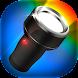 カラーライト LED HD - 懐中電灯 フラッシュライト - Androidアプリ