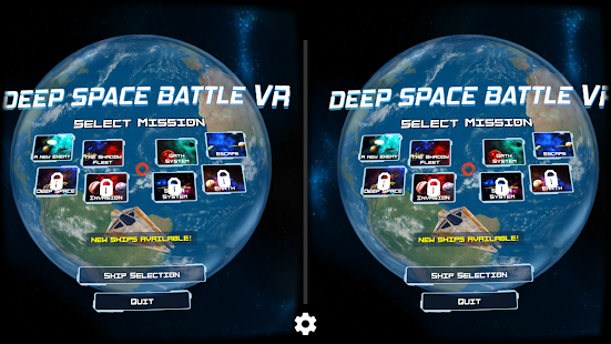 Deep Space Battle VR- screenshot thumbnail