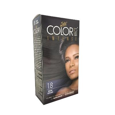 Tinte Slik Color Efect Intense Kit 1.08 Negro Azulado